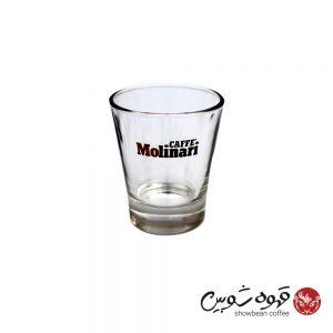 لیوان شیشه ای طرح مولیناری