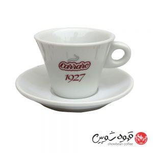 فنجان کررو سفید 220 میل قهوه